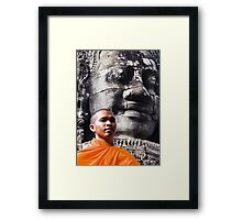 Bayon. Framed Print