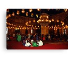 Mosque of Muhammad Ali (Interior) Canvas Print
