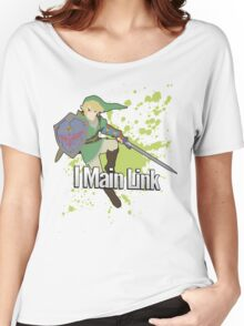 I Main Link - Super Smash Bros. Women's Relaxed Fit T-Shirt
