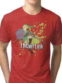 I Main Link - Super Smash Bros. Tri-blend T-Shirt