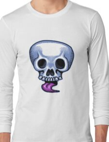 Skull Tongue Long Sleeve T-Shirt