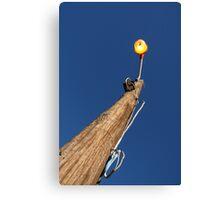 Daylight lamp light Canvas Print