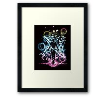 the last space bender Framed Print