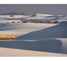 Shadows At White Sands Photographic Print