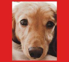 Puppy Dog Eyes One Piece - Short Sleeve