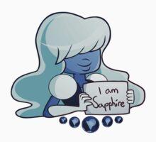 SU Sapphire Tshirt by AnimatiaTrain