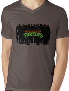 TMNT - Foot Soldiers - Teenage Mutant Ninja Turtles Mens V-Neck T-Shirt