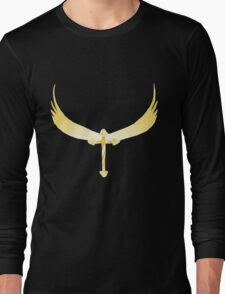 Angel Wings with Cross T-Shirt