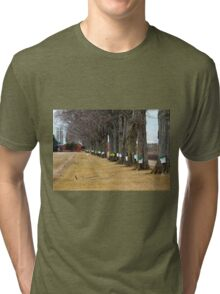 Maple Syrup Traditional Tapping Tri-blend T-Shirt
