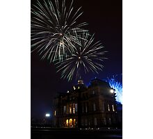 Fireworks at the Peoples Palace Photographic Print