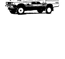 Datsun Pickup 4WD Double Cab '83-'85 by garts