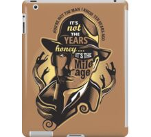 Indy's Mileage iPad Case/Skin