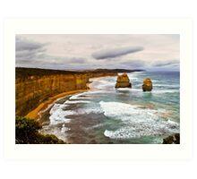 Great Ocean Road Stacks Art Print