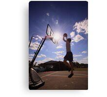 Basket SunBall Canvas Print