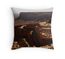 The Road from the Sky Throw Pillow