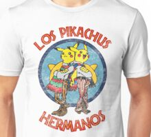 Los Pikachus Hermanos (Distressed Version) Unisex T-Shirt