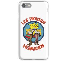 Los Pikachus Hermanos (Clean Version) iPhone Case/Skin