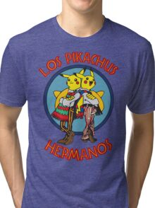 Los Pikachus Hermanos (Clean Version) Tri-blend T-Shirt