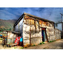 Tin House in Tai O - HDR Photographic Print