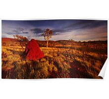 Colours of the Pilbara Poster