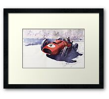 Ferrari 246 Mike Howthorn 1958 Framed Print