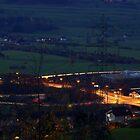 motorway exit by Frederic Chastagnol