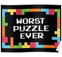 WORST PUZZLE EVER Poster