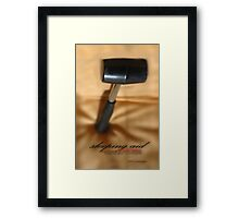 Instant Patience Remedy © Vicki Ferrari Photography Framed Print