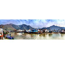 Tai O Fishing Village - Panoramic HDR Photographic Print