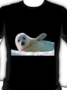 Seal Pup Waving Hello Tee T-Shirt