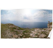 St Aldhelm's Head Triptych Part 2 Poster
