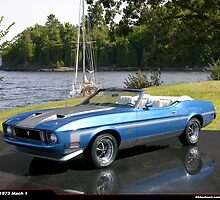 1973 Ford Mustang Mach 1 Convertable by 454autoart