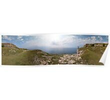 St Aldhelm's Head Panorama Poster