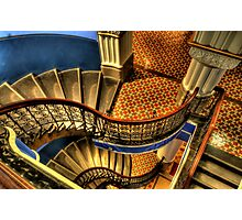 Vertigo - QVB Building (Colour)- The HDR Experience  Photographic Print