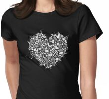 My heart holds many things Womens Fitted T-Shirt