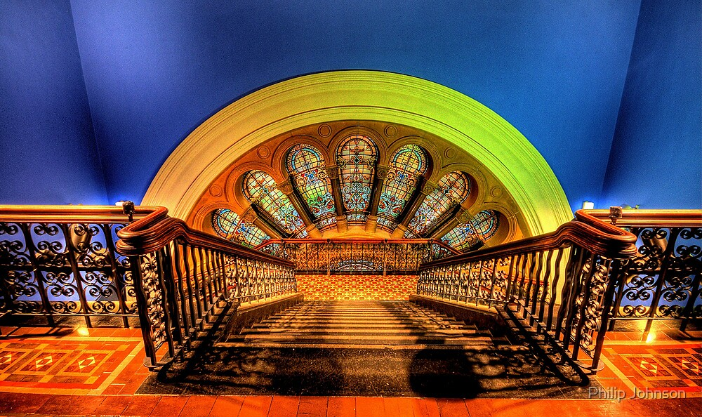 Stairway To Heaven - QVB, Sydney - The HDR Experience by Philip Johnson