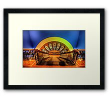 Stairway To Heaven - QVB, Sydney - The HDR Experience Framed Print