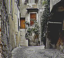 Italian Alley by Warren. A. Williams