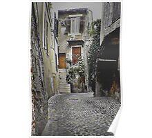 Italian Alley Poster