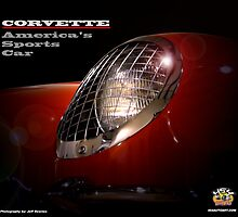 2010 Corvette Coalendar Cover by 454autoart