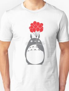 Totoro with Balloons Unisex T-Shirt