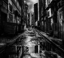 Dark City Streets by Paul Cook