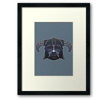 Darth-Dovahkiin Framed Print