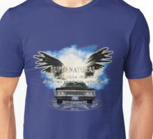 Supernatural driver picks the music Angel Wings Unisex T-Shirt