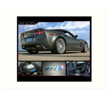 2009 Corvette ZR1 Art Print
