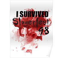 I Survived Slayerfest 98 Poster