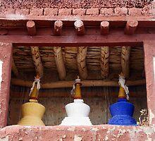 The Three Stupa by Neeraj Nema