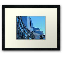 Blue Sky NY Framed Print