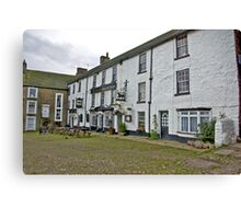 The Black Bull Hotel - Reeth Canvas Print