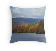 Autumn at the Lake Throw Pillow